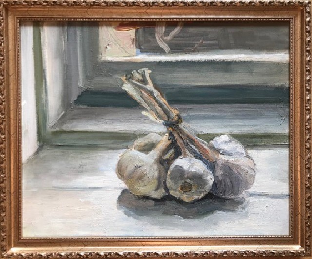 Still-life With Garlics