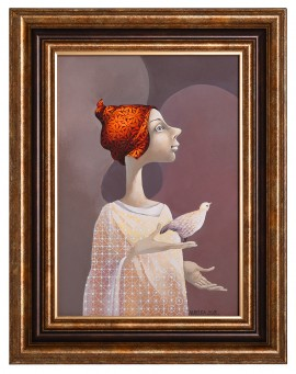 Angel With A Red Hat