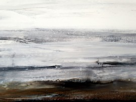 Dunes In Winter (diptych)