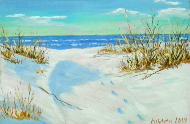 Winter. Seaside
