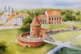 St. George Church and Kaunas Castle