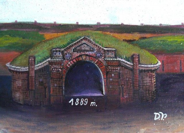 Original Entrance of VI Fort