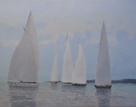 Sails in the Lagoon