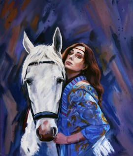 Gypsy With A Horse
