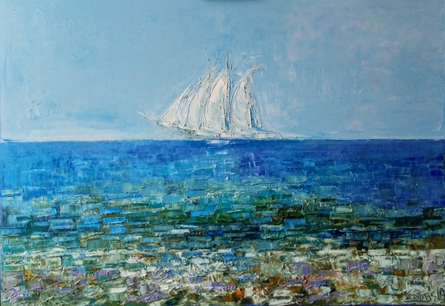 Seaside Visions. Sails