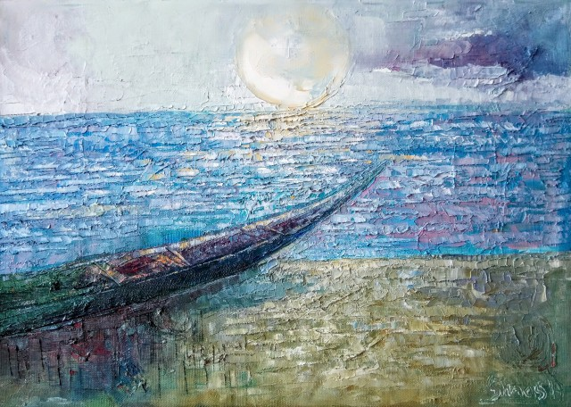 Seaside visions. The Boat