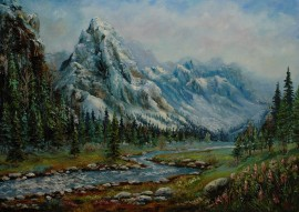 Spring In Mountains