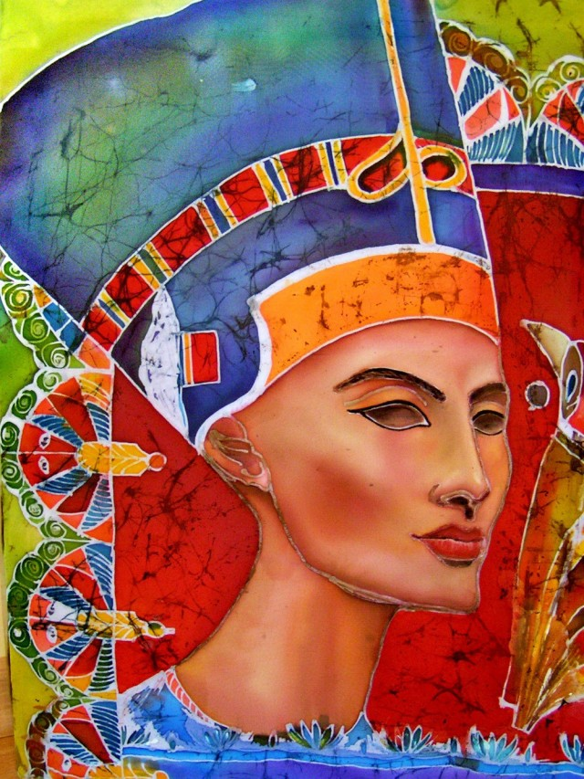 Nefertiti original painting by Svetlana Grigonienė. Other technique