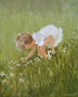 Girl in the meadow