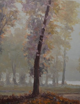 On a fall morning