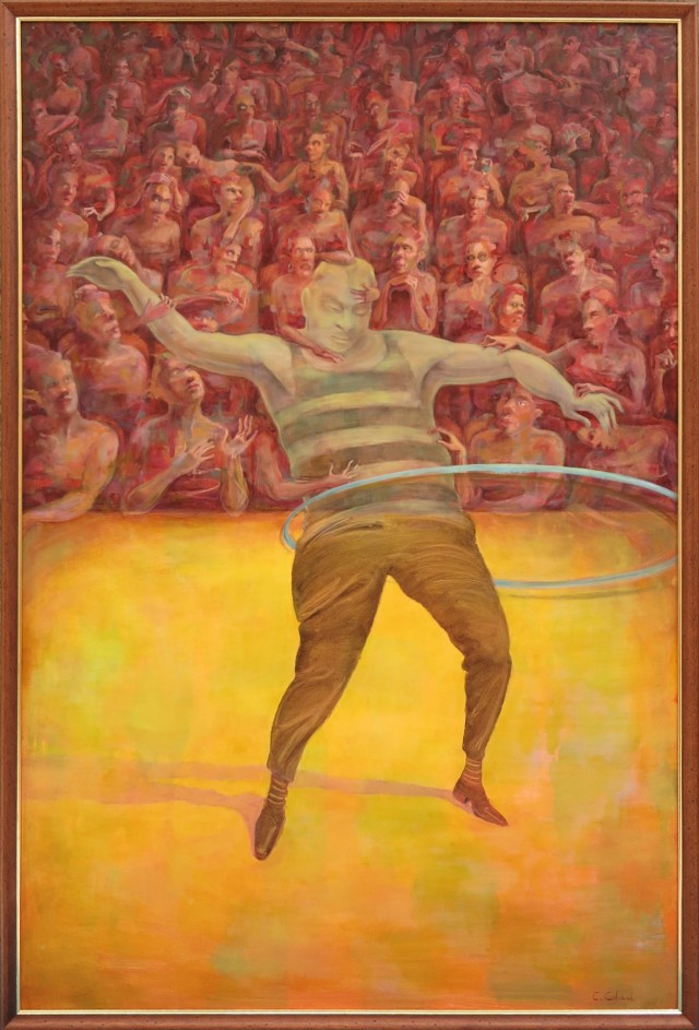 Francis Bacon Hula Hooping