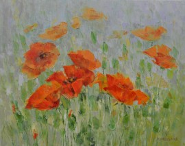 Morning poppies