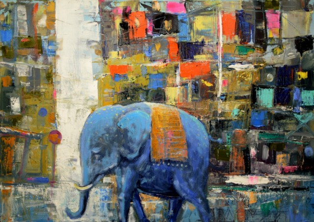 Blue Elephant Journey