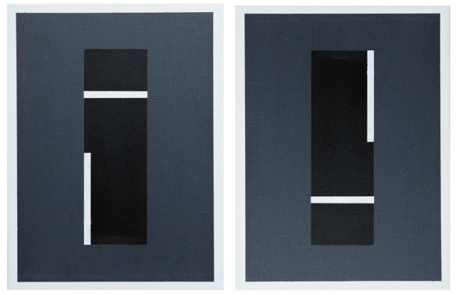 Diptych Linear No.3