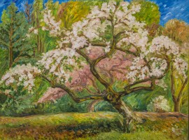 Adomed With Blossoms
