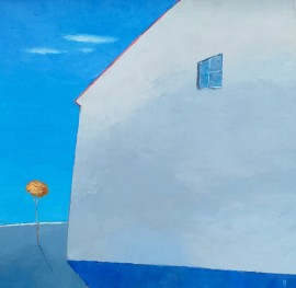 Blue Landscape With House