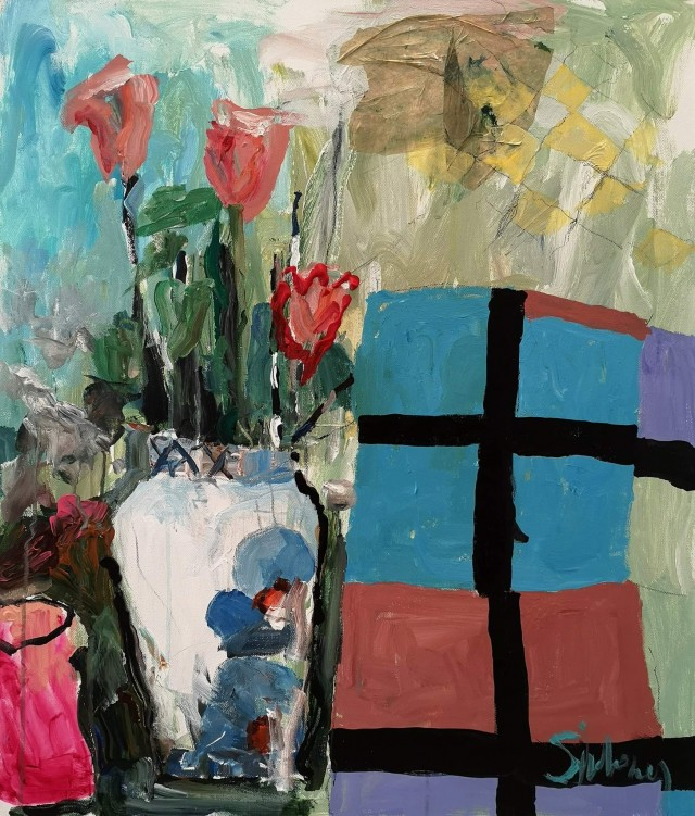 Bouquet with Abstract