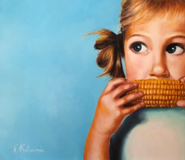 Girl With A Corn