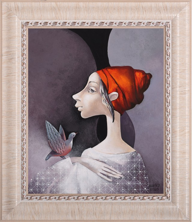 Angel With Red Hat