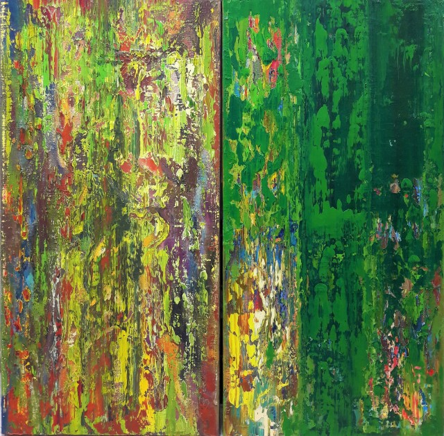 Warmth Of Wood (diptych)