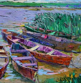 Boats In Nemunas