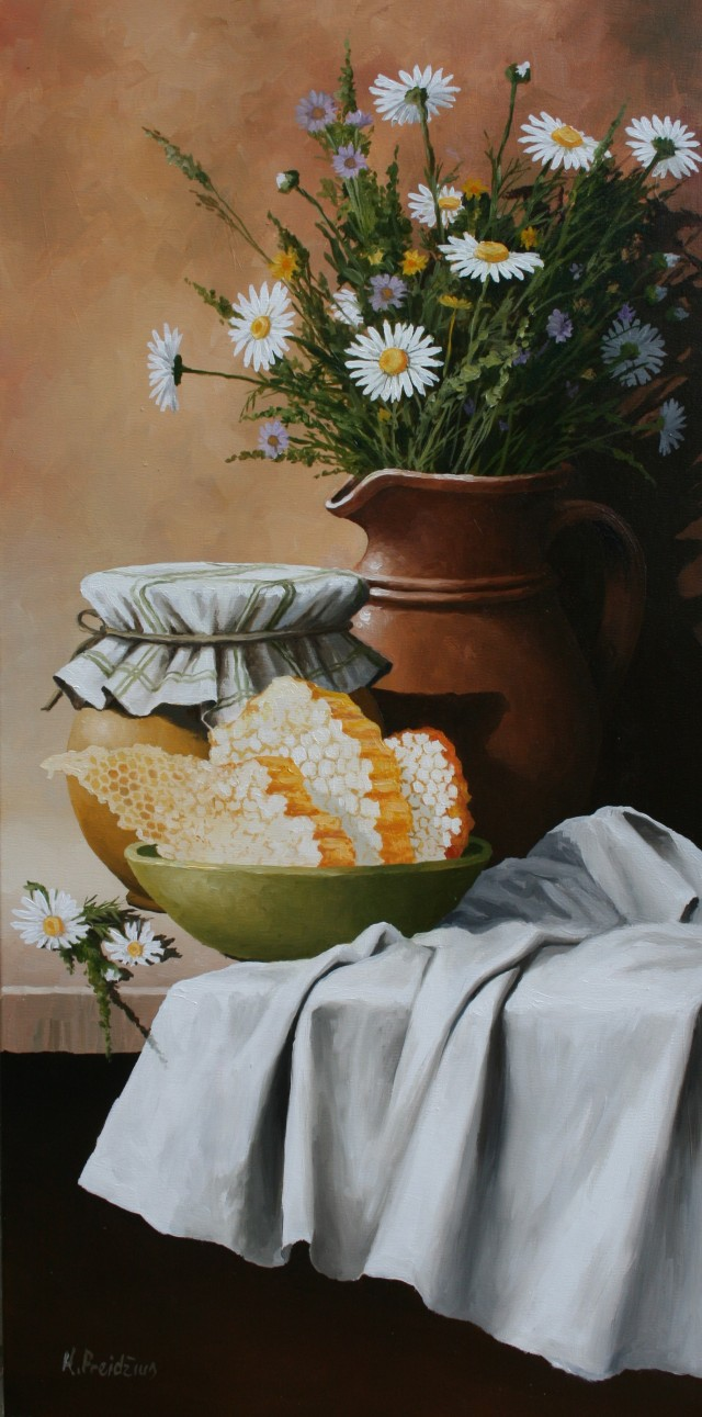 Still Life with Honey