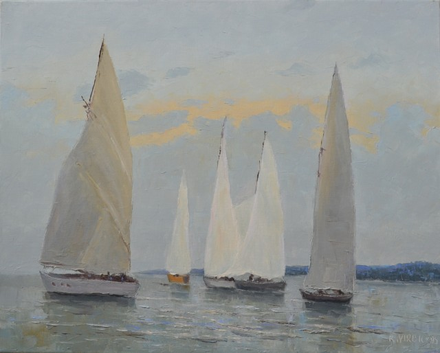 Yachts In The Lagoon
