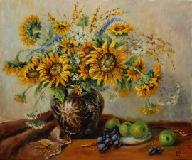 Still Life With Sunflowers
