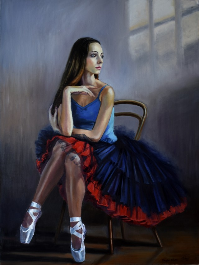 The Portrait Of Ballerina