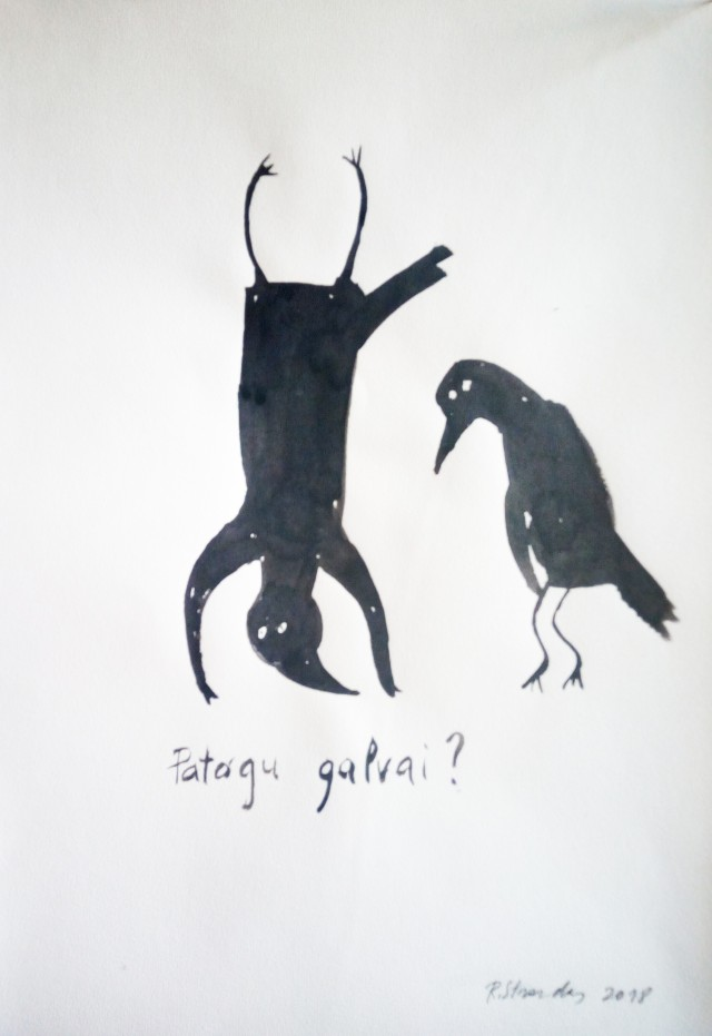 """Cycle """"Events of Ilona, The Crow"""". Does It Comfortable For Your Head?"""