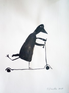"""Cycle """"Events of Irena, The Crow"""". Still, Not Yours Scooter Is Better"""