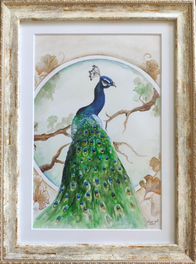 Peacock For Success
