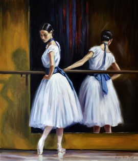 Evening In The Ballet School