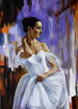 Portrait Of Ballerina