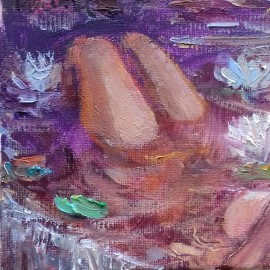 """Cycle """"Bathing""""...With Lilies"""