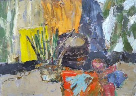 Composition With Brushes