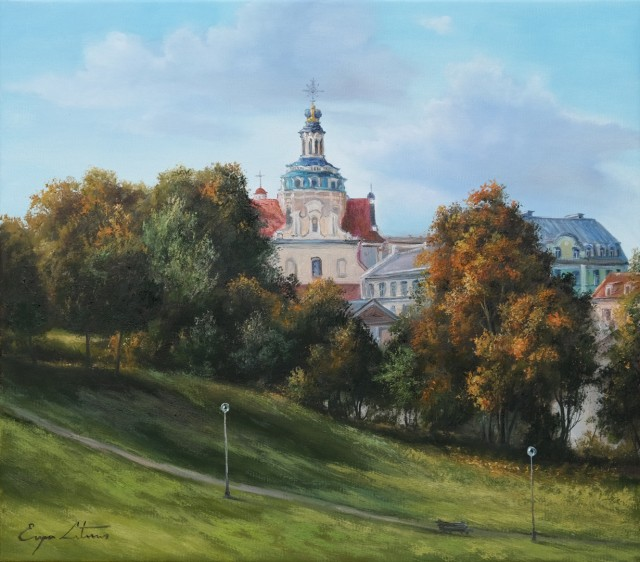 Vilnius. Autumn colours