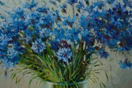 Blueeyed Cornflowers