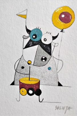 """A Wonderful Celebration...From the cycle """"Stories of Cows"""""""