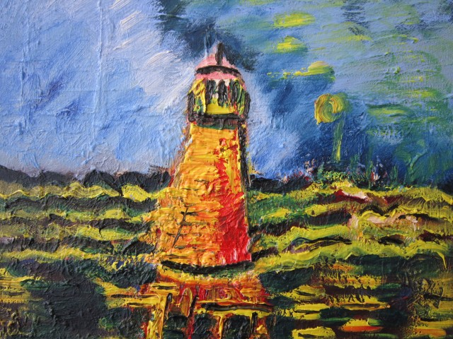 Lighthouse of Pervalka