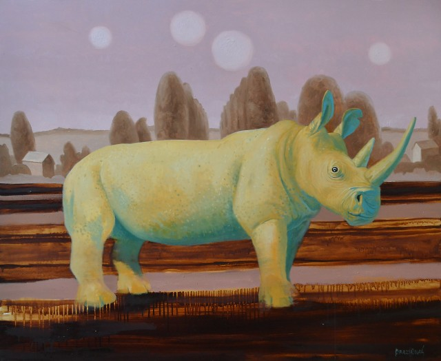 Stay of Rhinoceros (Rhinocerotidae)