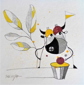"""I Will Sit Under The Ash... From The Cycle """"Stories Of Cows"""""""