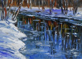 The River in Winter