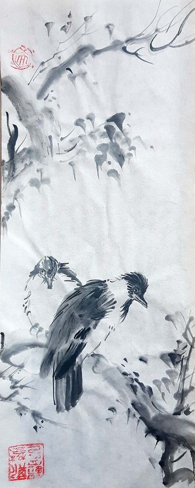 Birds. A copy of a Chinese picture