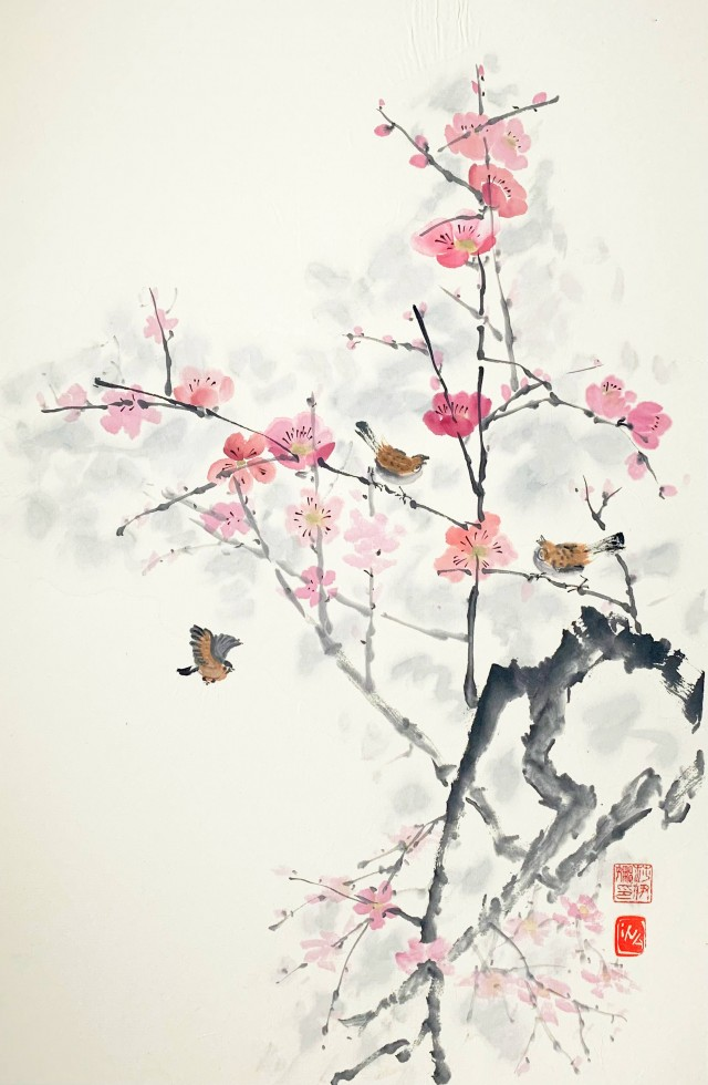 Lost in blossoms