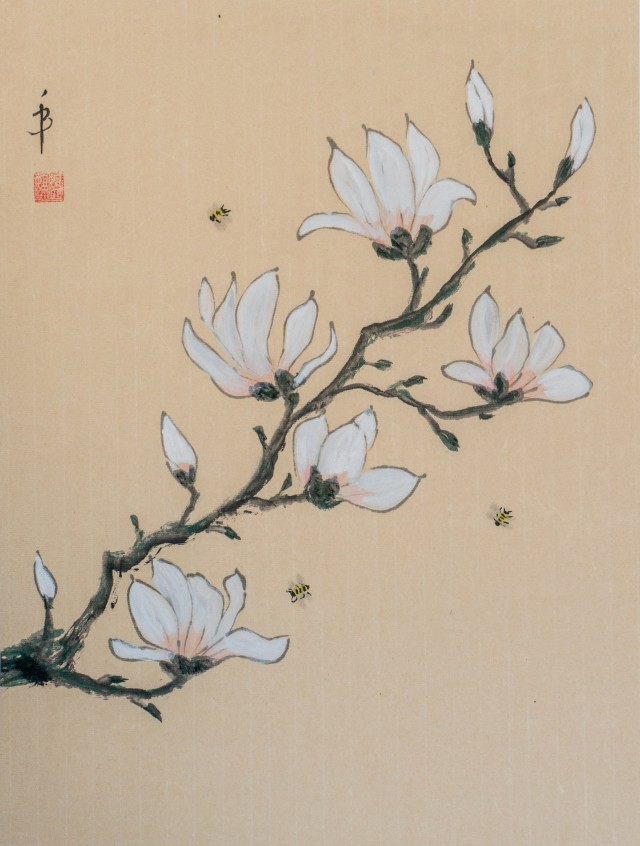 Magnolia and the bees