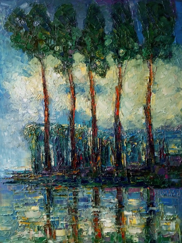 Pines By The River