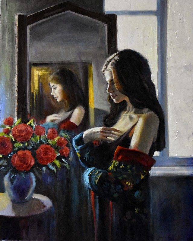 Dialoque With Roses II