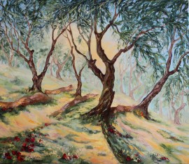 In An Olive Grove