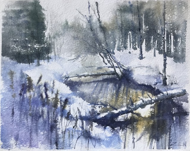Tranquility Of Winter